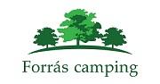 Forrás Camping Logo